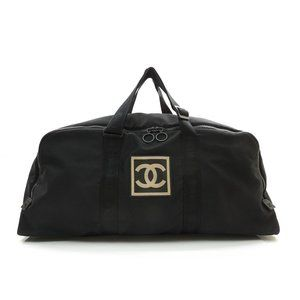 Auth Chanel Sports Travel Boston Bag #N73362H91